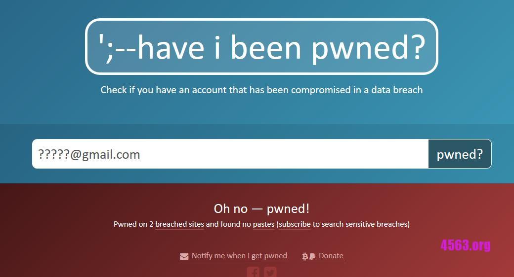 《5.6 億個帳戶密碼外洩 包括 : DropBox + Tumblr + Adobe + LinkedIn(附檢查方法)》