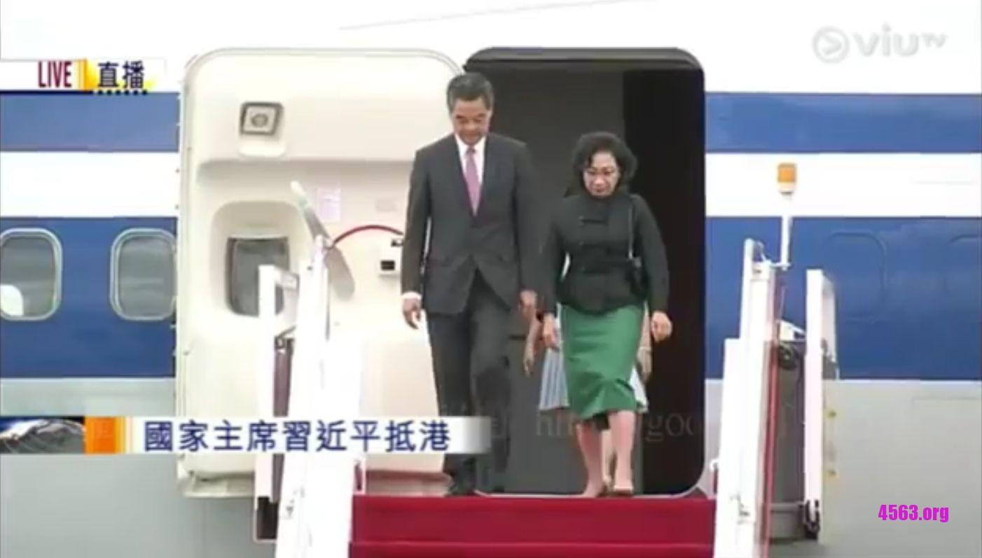 《梁振英卸任香港特區首長 , 當了國家主席 , CCTVB牛逼》
