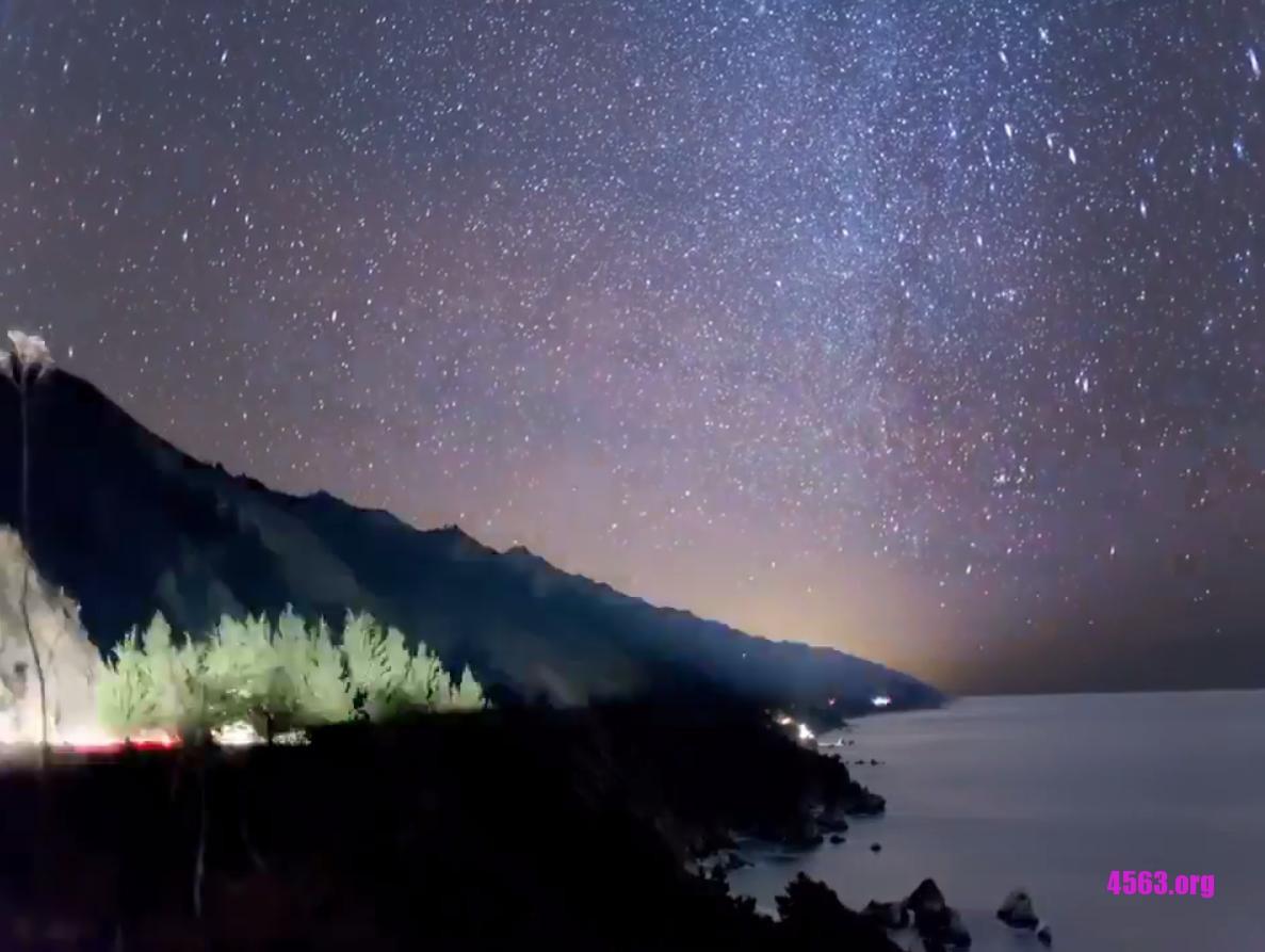 現在有流星雨 , 每小時150顆 , 你家看得到嗎? 有圖~
