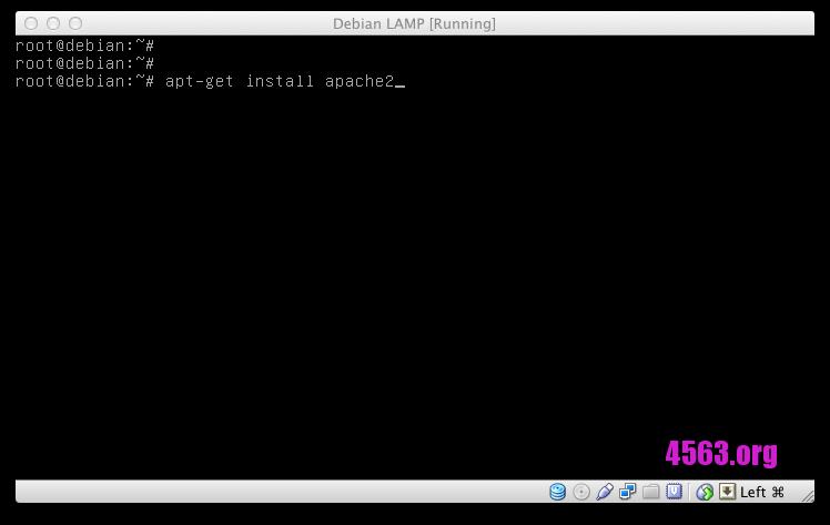 Debian安裝Apache + PHP 網頁環境