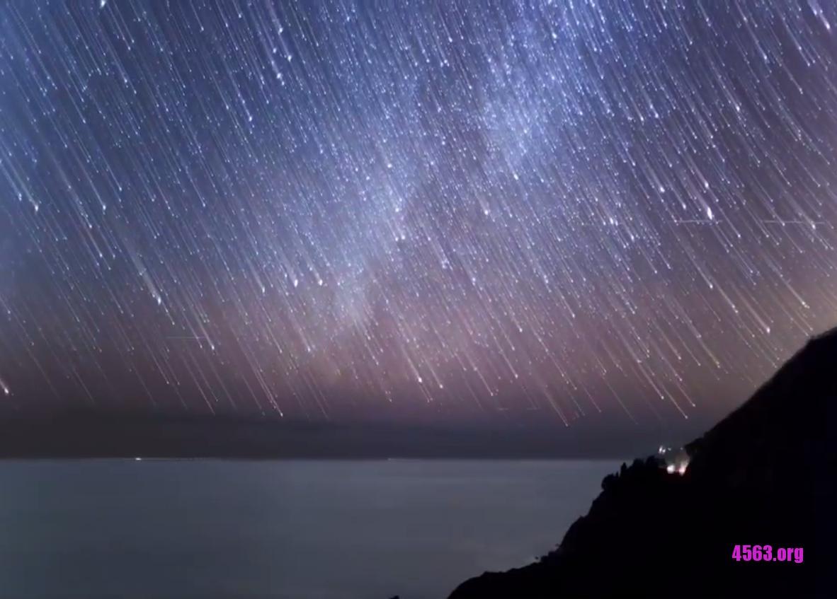 《現在有流星雨 , 每小時150顆 , 你家看得到嗎? 有圖~》