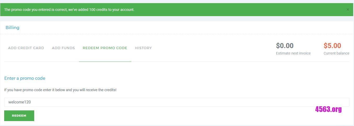 《VPSServer加送100 credit給用戶使用 , 早前已上車讀者趕快去領~》