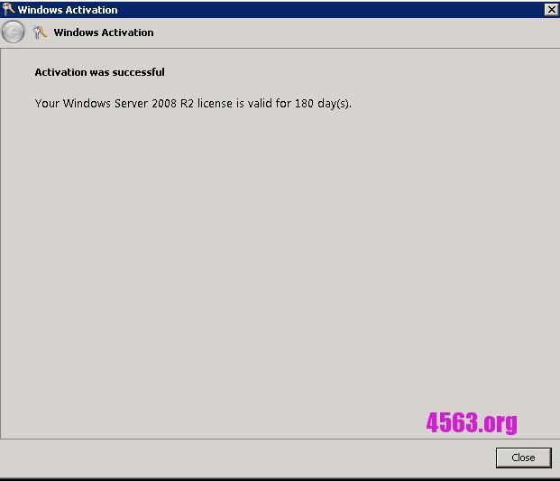 Windows 2008 180天Key , 另加多次激活教學 , 親測有效~