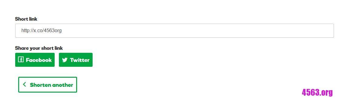 《Godaddy免費縮短網址GoDaddy Shortener , 可自訂網域名稱》