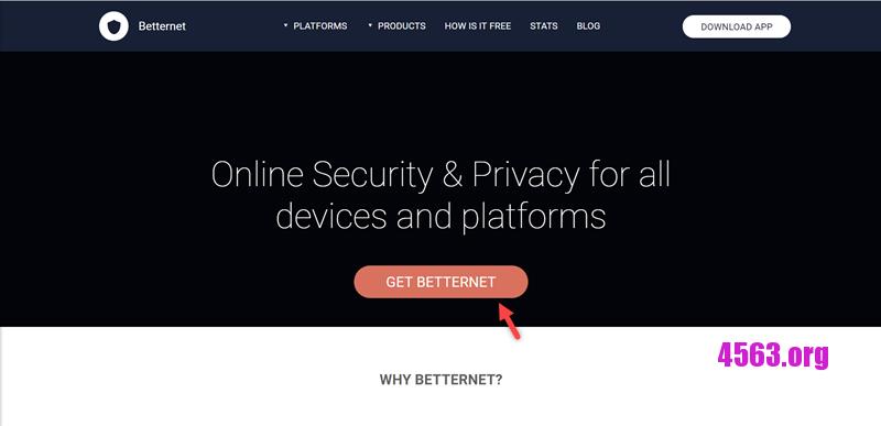 《Betternet免費七天試用vpn翻牆軟件》