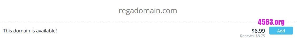 《Dynadot .99註冊com 送永久domain privacy -優惠有效期至2月28日》