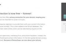 因應GDPR政策下@Namecheap 5月29日起提供永久域名隱私保護@Free Privacy Protection for Life
