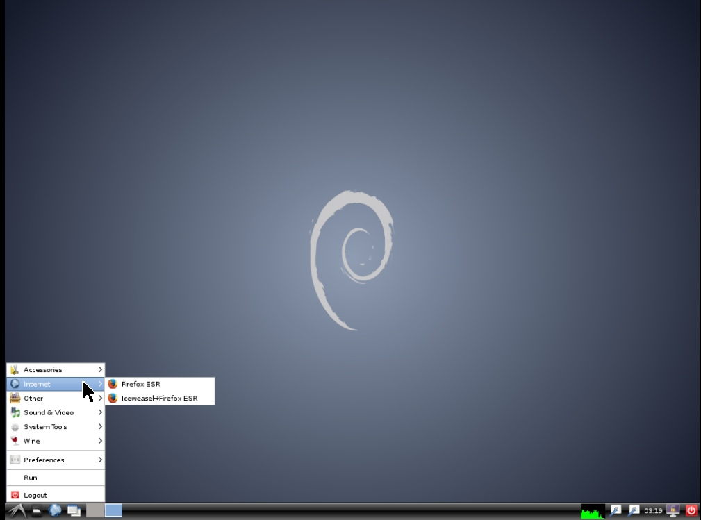 debian/ubuntu一键安装桌面环境LXDE+VNC+Firefox