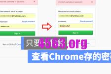 十秒鐘破解Chrome已儲存的星星密碼教學