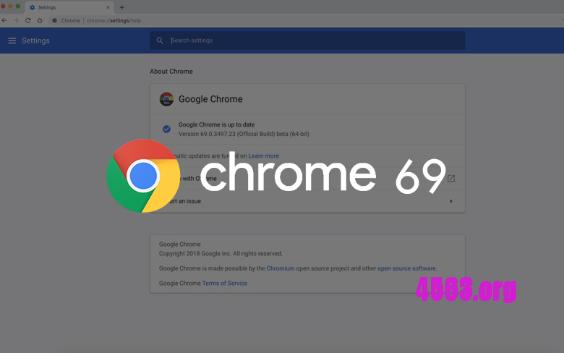 Chrome69 高分屏下字体发虚模糊解决方法