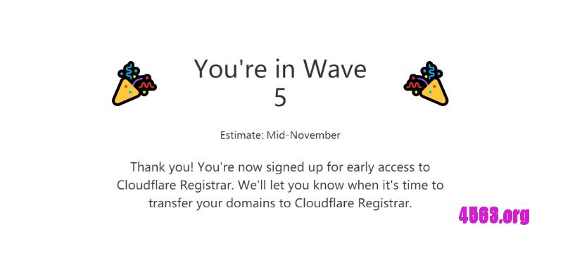 Cloudflare注册域名服务@提供成本价注册域名,接受预约中,捐款1美元可優先