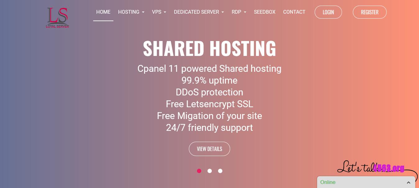 Loyal Server洛杉矶/法国KVM VPS@512MB内存/40GB空间/512GB流量@$3.99/月