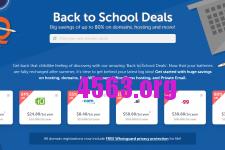 NameCheap 9月开学促销活動 – $3.8購域名/年付虚拟主机12美元