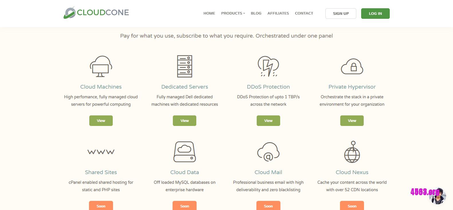CloudCone 256內存VPS特价機 , $15/年