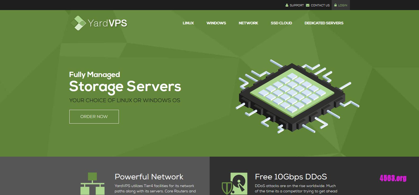 YardVPS – 1核心1G內存50G硬盤1T流量 DDOS防御/windows@$5.8/月
