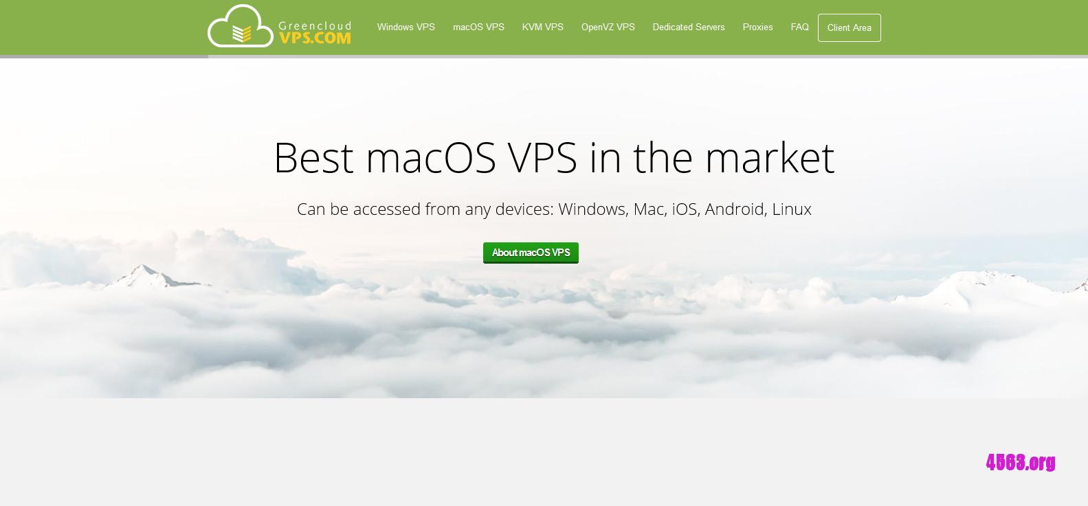 CloudXMAC洛杉矶/越南VPS@2GB内存/40GB SSD空间/不限流量/1Gbps/macOS@$22/月