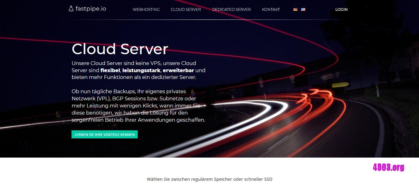 Fastpipe德国KVM VPS@1核/1G内存/10G HDD/不限流量/1G端口@€3.49/月