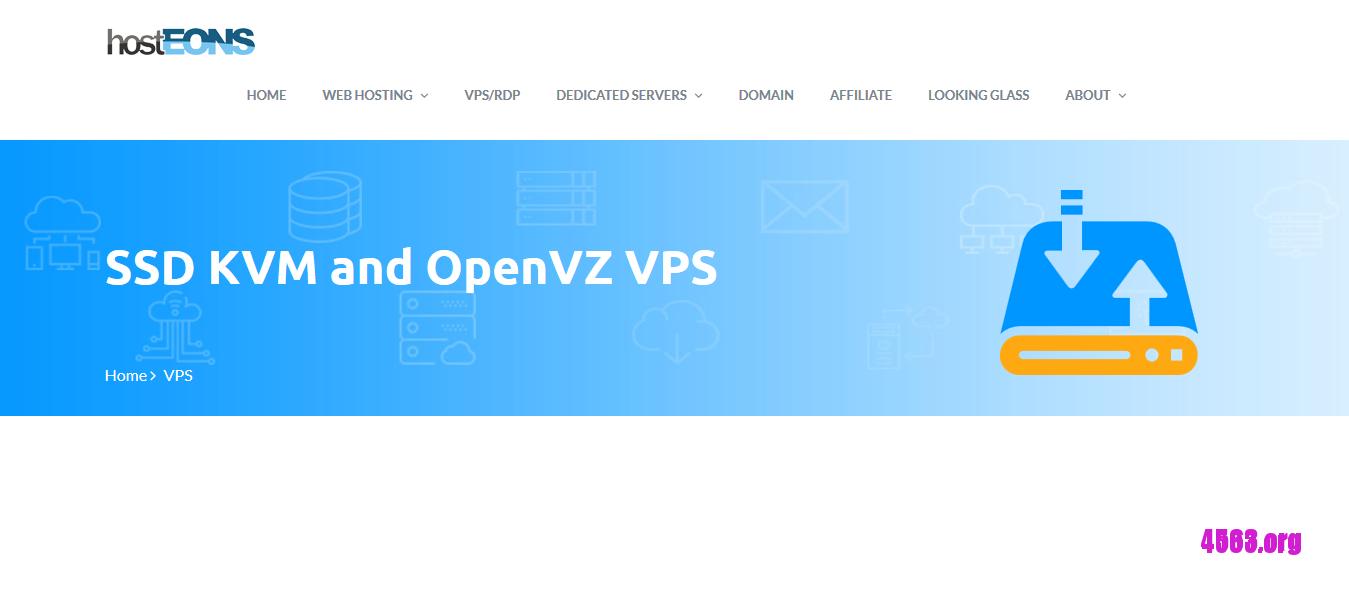 hostEONS洛杉矶KVM VPS@1GB/10G SSD/无限流量@$3/月– 4563博客@每日更新