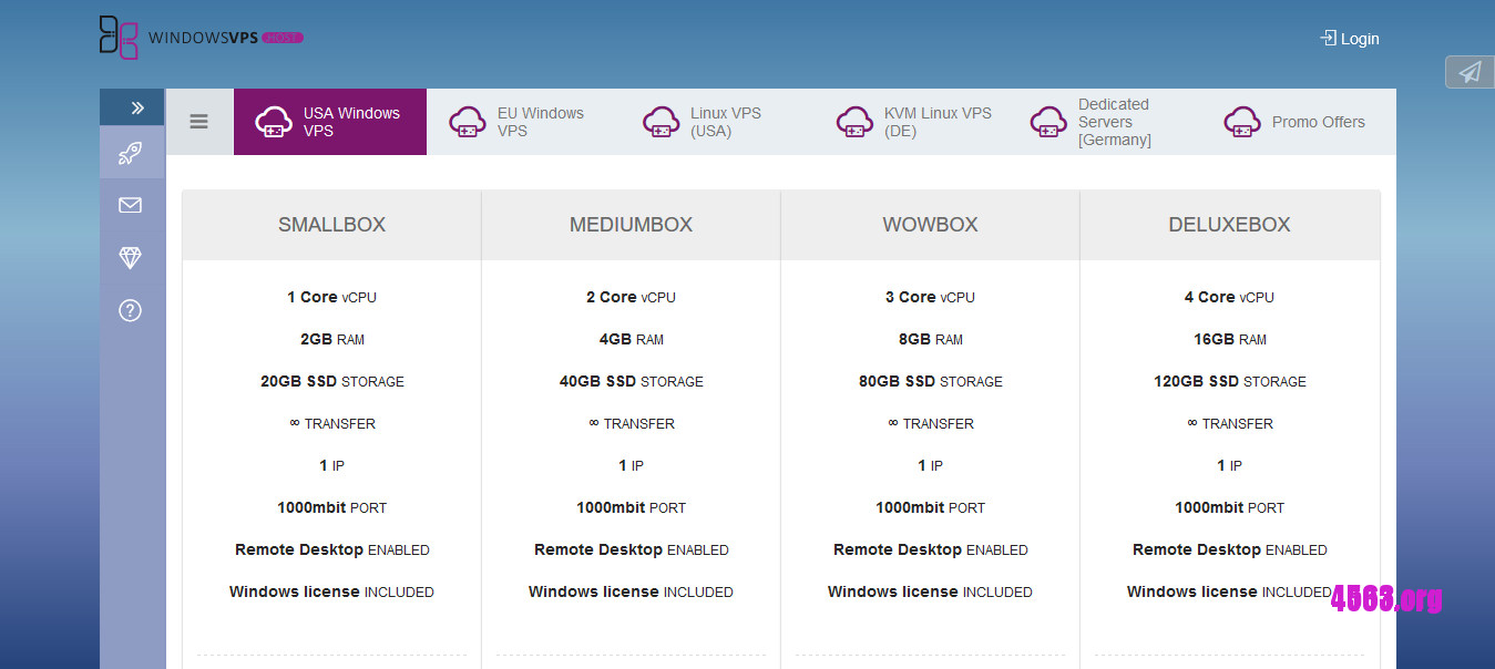 iportal.host KVM VPS@3G内存/不限流量/Free Windows/德国/美国@$4.5/月