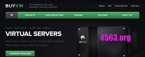 BuyVM 便宜KVM VPS服务器/1G内存/100Mbps/ 拉斯维加斯 可选CN2