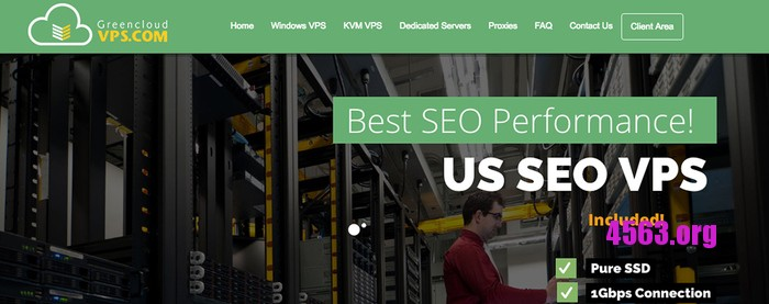 GreenCloudVPS 特价美国VPS服务器/1G KVM SSD 年付28.8美元