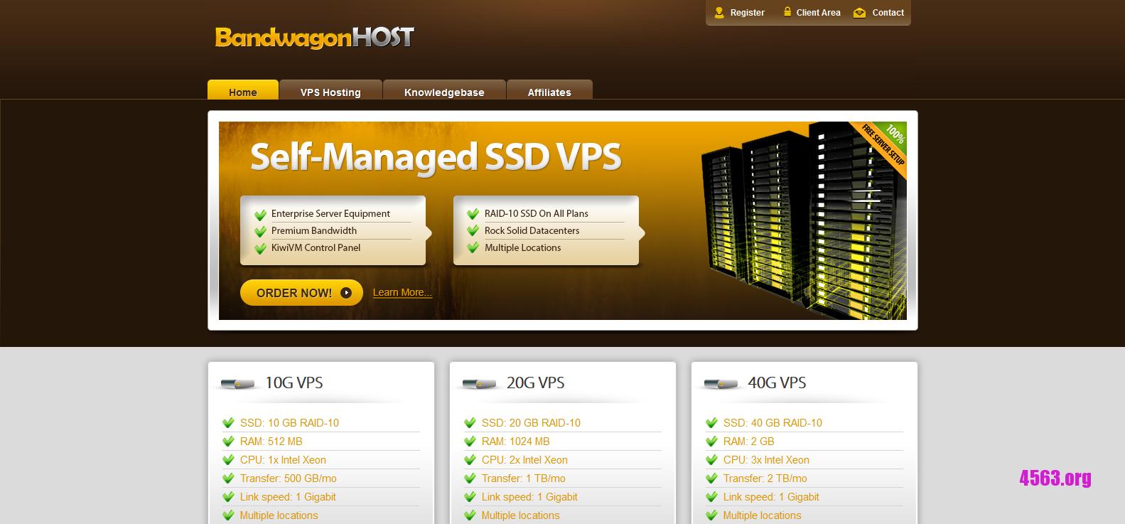 BandwagonHost:$29.88/年/2GB内存/40GB SSD空间/2TB流量/KVM/洛杉矶CN2