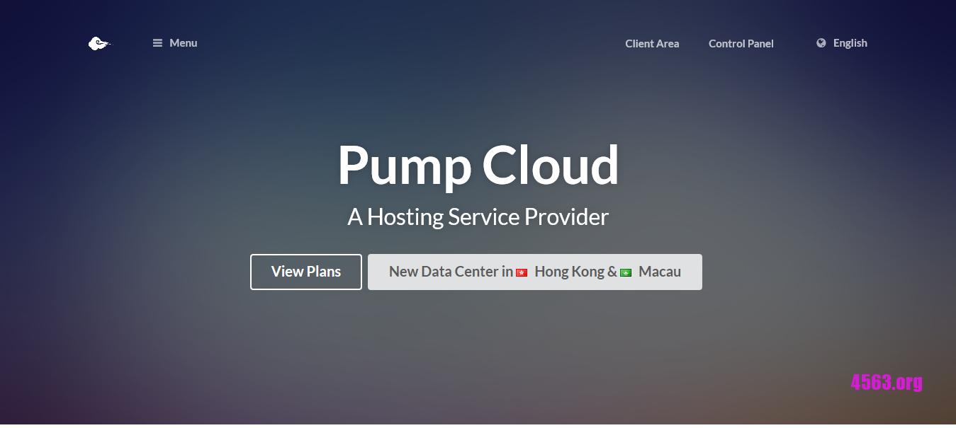 Pump Cloud:香港固定IP、动态IP VPS优惠,力度大