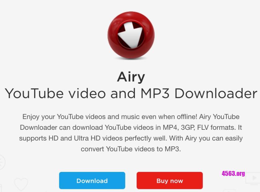 Airy下載YouTube高質影片,能下載到1080p解析度的影片